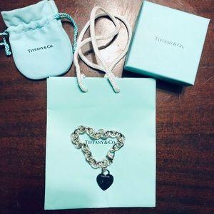 💯 Authentic Tiffany & Co Heart Bracelet 💗